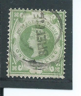 Anglia Victoria Mi nr 97 1 Sh. kasowany