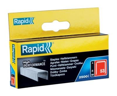 Zszywki Rapid z drutu cienkiego nr 53 (8 mm)