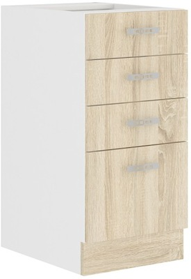 Шкаф кухонная ODETA 2 цвета 40 D 4S BB