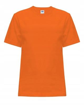 T-SHIRT DZIECIĘCY JHK pomarańczowy 9-11 OR 146