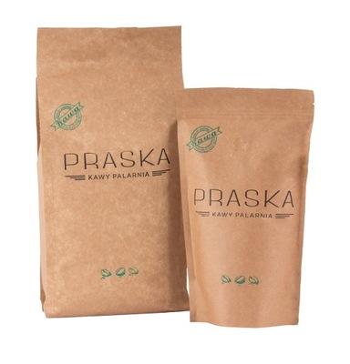 Praska Zielona 85% Arabica kawa ziarnista 250g