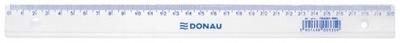 Linijka DONAU 30cm zawieszka transparentna