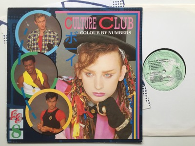 Culture Club Colour By Numbers [EX] M39
