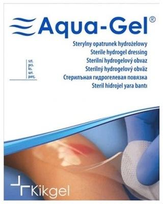 Opatrunek hydrożelowy AQUA-GEL fi6,5 okrągły