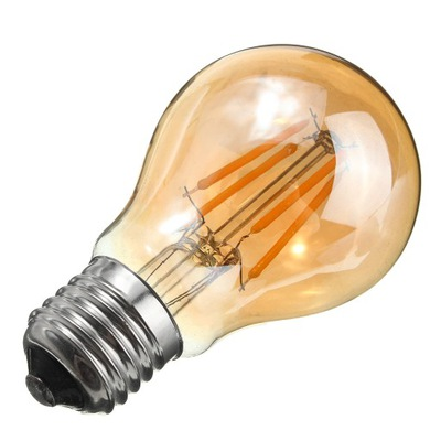 ЛАМПА FILAMENT Декоративная LED E27 A60 6 ВТ 2200K