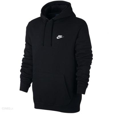 Nike męska bluza kangurka z kapturem czarna S