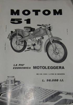 MOTOM 51. 1959.