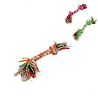 Zabawka gryzak dla psa sznur bawełna 31cm
