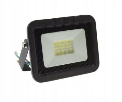 Naświetlacz LED SLIM 20W halogen lampa ciepła