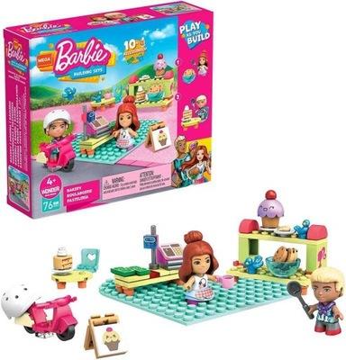 Mega Bloks Barbie Cukiernia GWR32