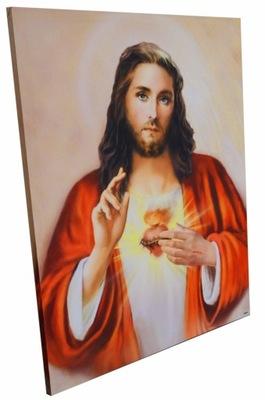 Образ Святой сердце Иисуса 104x138cm