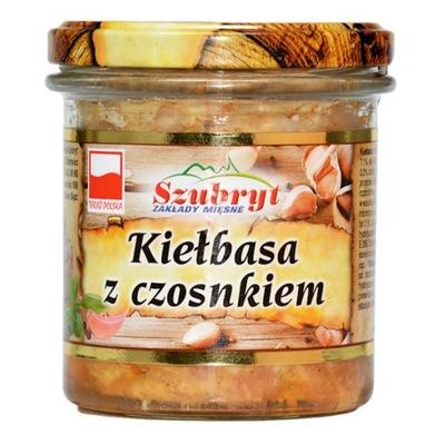 Колбаса с чесноком 300 ? в банке Теперь польский  !
