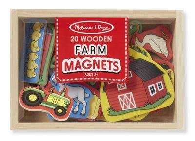 Магниты ферма на холодильник для детей MelissaandDoug