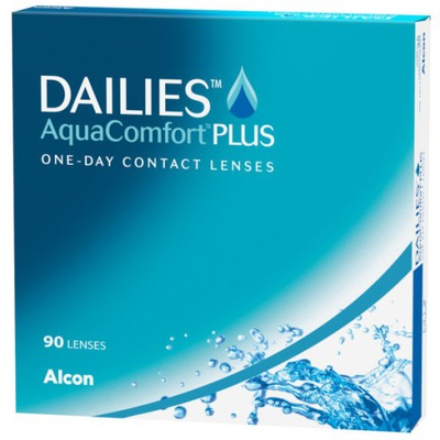 Soczewki Dailies Aqua Comfort Plus - 90 sztuk