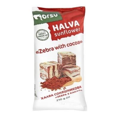 халва подсолнечная какао 210? натуральная Украина
