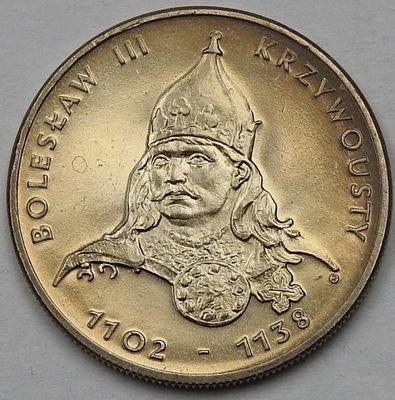 50 zł Bolesław Krzywousty 1982 mennicza mennicze