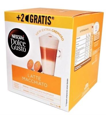 Nescafe Dolce Gusto Латте Макиато капсулы 18