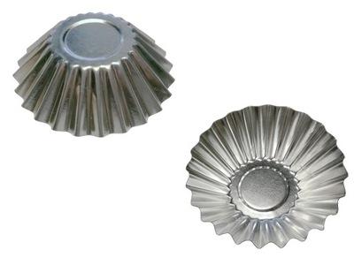 Формочки для тарталетки, кексы - 7 ,4 см (10 штук .)
