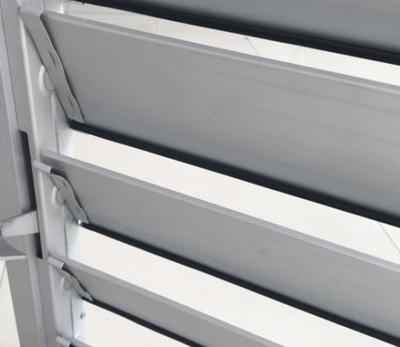 PROFIL ALUMINIOWY biały do żaluzji, SHUTTERS 100cm
