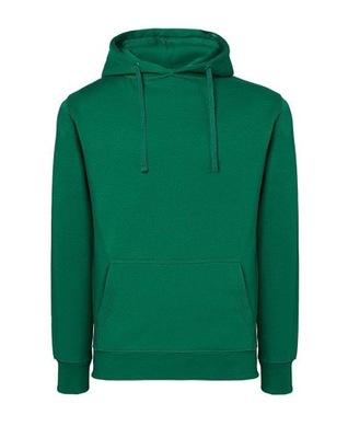 DAMSKA bluza kangurka JHK 290g zieleń kelly XL