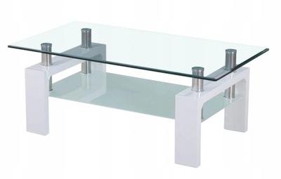 Ława szklana, stolik kawowy do salonu A08-2
