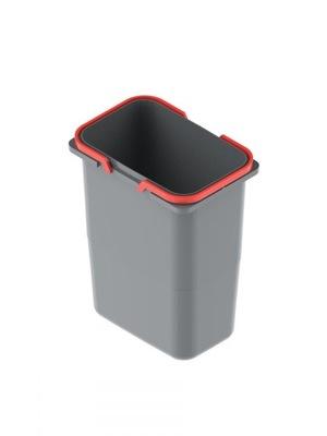 Wiadro na śmieci odpady REJS 9l z uchwytami