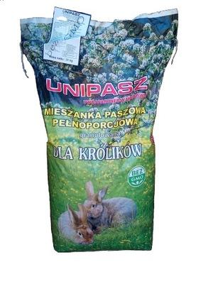 Корм для Кроликов Лань ухода Unipasz