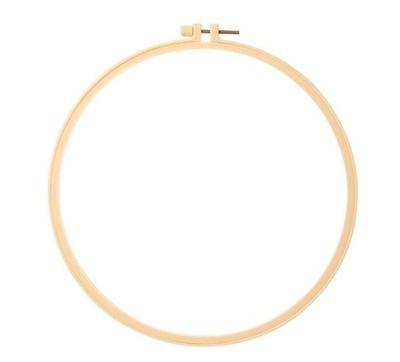 Tamborek plastikowy obręcz haftu 15cm wytrzymały
