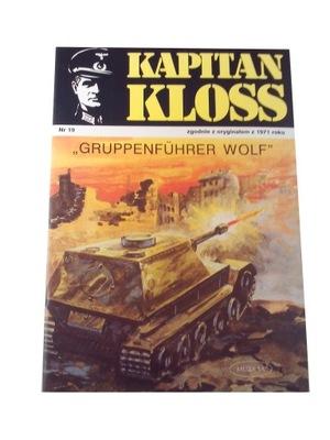 KAPITAN KLOSS 19. GRUPPENFUHRER WOLF 2002 r.