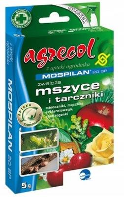 Mospilan 20SP na mszyce i szkodniki Agrecol 5g