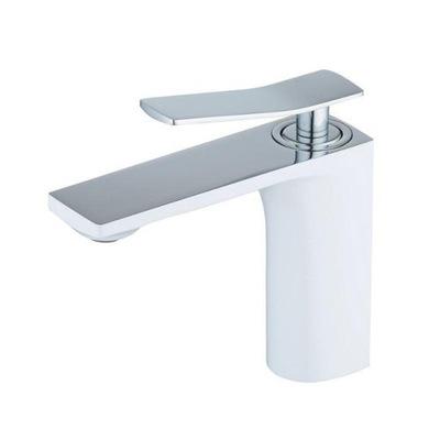 Moderný biely kúpeľňový umývadlový faucet