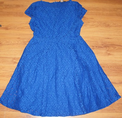 LINDEX sukienka z koronki wesele 40-42 L XL bdb+
