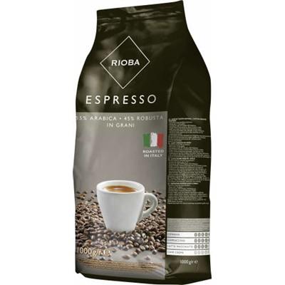 Rioba Espresso SILVER Kawa ziarnista prażona 1 kg