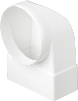 Колено соединительные переменные 55x110 / ср.100 вертикальные