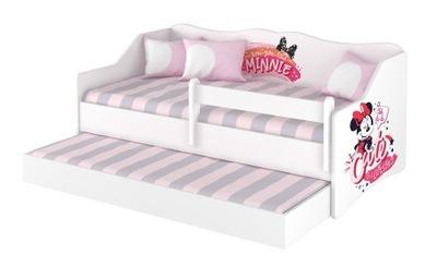 кровать двойные ЛУЛУ 160x80 + матрас Дисней