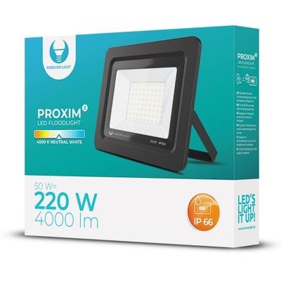 Naświetlacz LED PROXIM II 50W |4500K| IP66 Forever