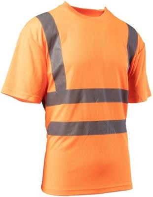Koszulka ostrzegawcza BRIXTON FLASH Pomarańcz XL