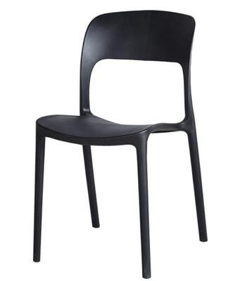 Современные BLACK СТУЛ DIANA стулья черные KR05