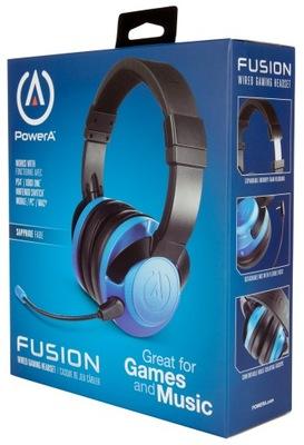 PowerA Słuchawki przewodowe FUSION Blue Xbox X / S