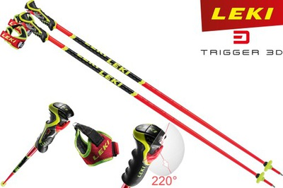 Kije zjazdowe slalom LEKI WORLDCUP SL 3D 2021 125