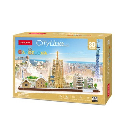 PUZZLE 3D CITYLINE BARCELONA 20256