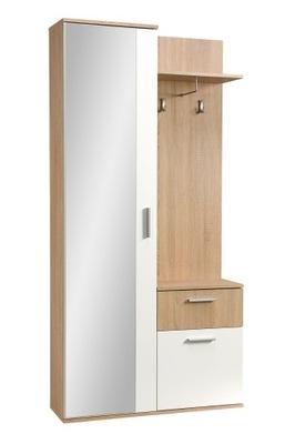 Pojemna wąska garderoba do małego mieszkania LUX