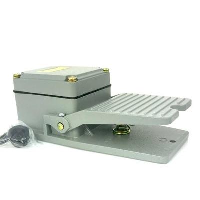 Выключатель ножной на педаль кнопку металлический без крышки