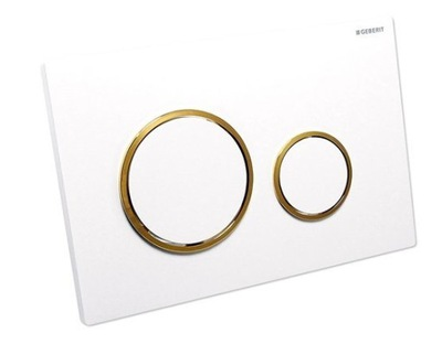 GEBERIT SIGMA20 WHITE/GOLD 115.882.KK.1