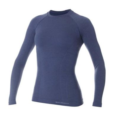 Koszulka merino damska BRUBECK Active Wool XL