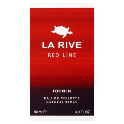 LA RIVE RED LINE WODA TOALETOWA MĘSKA 90 ML