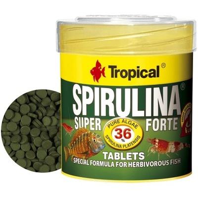 TROPICAL SUPER SPIRULINA FORTE TABLETKI 50ml - 36g