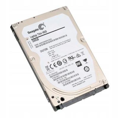 Dysk Twardy Nowy Seagate HDD 2,5'' 500GB SLIM 7 MM