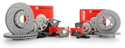 Tarcze+Klocki Zimmermann Sport P+T BMW 5 E39 324mm