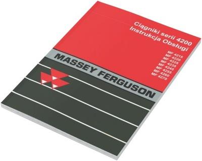 ИНСТРУКЦИЯ MF 4245 4255 4260 4270 MASSEY FERGUSON
